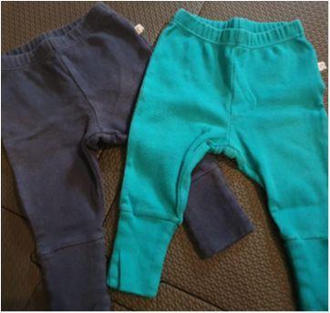 Kit calças com pezinhos - 0 a 3 meses - Teddy Boom