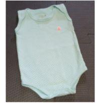 Body regata de bolinhas - 0 a 3 meses - Kiko baby