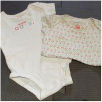 Kit bodies menina - 0 a 3 meses - Carter`s