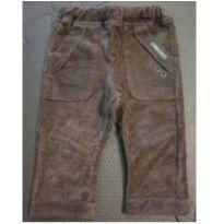 Calça veludo marrom - 12 a 18 meses - Green