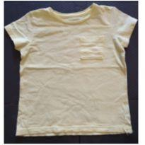 Camiseta lisa amarela - 18 a 24 meses - Baby Club