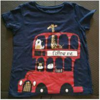 Camiseta estampa safari - 18 a 24 meses - Baby Club