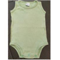 Body sem manga verde claro - 6 meses - Cocar Baby