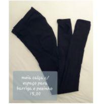 Meia calça com pezinho para gestante - M - 40 - 42 - Não informada