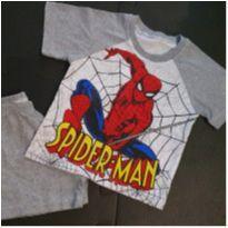 Pijama homem aranha - 1 ano - Não informada
