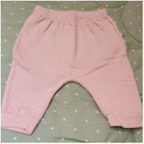 Calça rosa claro flanelada - Recém Nascido - Não informada