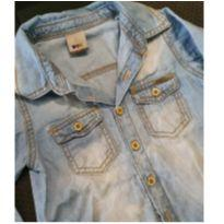Camisa jeans - 2 anos - PUC