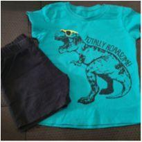 Conjunto dinossauro - 2 anos - Baby Club