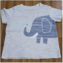 Camiseta elefante - 9 meses - Carter`s
