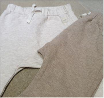 Kit calças flaneladas - 6 meses - H&M