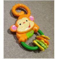 Chocalho macaco -  - Fisher Price