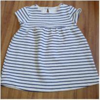 Vestido listrado - 9 a 12 meses - Zara e Zara Baby