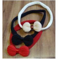 Kit faixinhas de tricô -  - Artesanal
