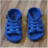 Sandália azul - 23 - plugt