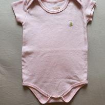 Body rosa liso - 9 meses - Kiko
