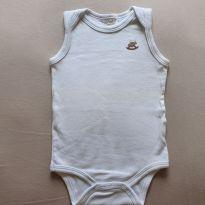 Body regata branco - 9 a 12 meses - Up Baby