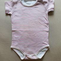Body listrado rosa - 9 meses - Colibri