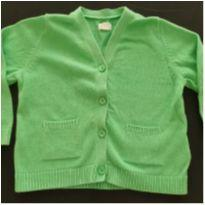 Cardigan verde - 9 meses - Baby Gap