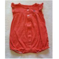 Romper vermelho de bolinhas - 9 a 12 meses - Carter`s