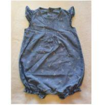 Romper jeans - 9 a 12 meses - Carter`s