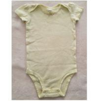 Body amarelo listra - 9 meses - Carter`s