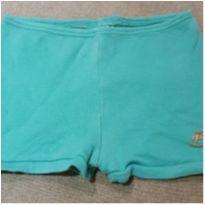 Shorts verde água - 9 a 12 meses - Up Baby