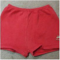 Shorts vermelho - 9 a 12 meses - Up Baby