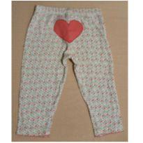 Calça coração rosa - 1 ano - Carter`s
