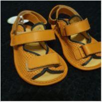 Sandália couro laranja - 20 - Tip Toey Joey