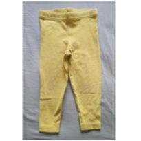 Legging amarela - 9 meses - Carter`s