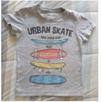 Camiseta urban skate - 4 anos - Pool Kids