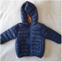 Jaqueta azul/caramelo - 12 a 18 meses - Zara e Zara Baby