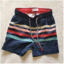 Shorts listrado colorido - 2 anos - Poim