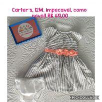 Vestido Lindo da Carters - 1 ano - CARTERS/TIPTOP/ZARA
