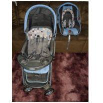 Carrinho de Bebê + Bebê Conforto -  - Cosco