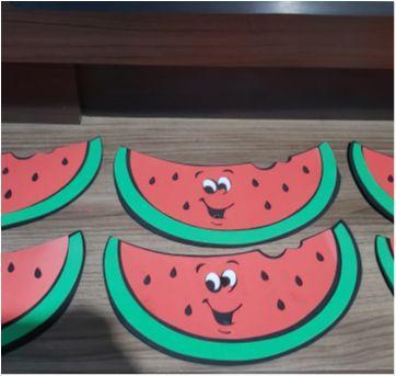 kit melancias eva festa tropical ou aniversario magali turma da monica - Sem faixa etaria - Disney