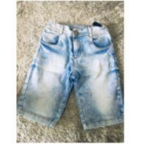 Bermuda Jeans TAM 08 - 7 anos - Figurinha Boys