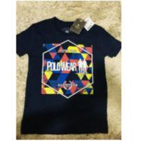 Camiseta Polo Wear TAM 10 - 8 anos - Polo Wear