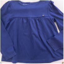 Blusa Azul Tommy - 4 anos - Tommy Hilfiger