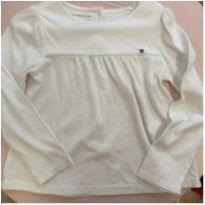 Blusa branca Tommy - 4 anos - Tommy Hilfiger