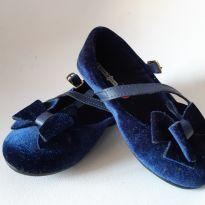sapatilha veludo azul - 24 - Riachuelo