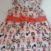Vestido de Menininhas - 3 a 6 meses - Pulla Bulla