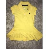 Lindo vestido amarelo - 9 a 12 meses - Hering Kids