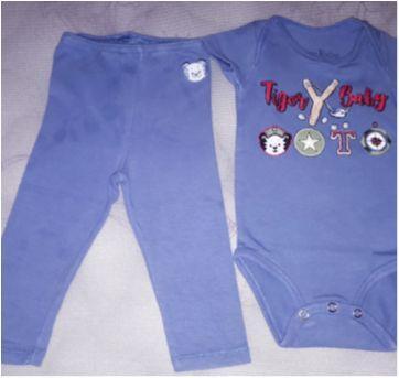 Conjunto tigor tigre - 0 a 3 meses - Tigor T.  Tigre e Tigor Baby