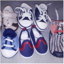 Lote sapatinhos de bebê menino - 13 - Pimpolho e Teddy Boom