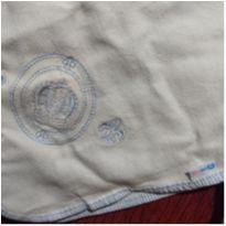 manta de malha grossa - 3 a 6 meses - Não informada