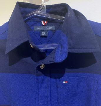 Camisa Social Tommy - 4 anos - Tommy Hilfiger