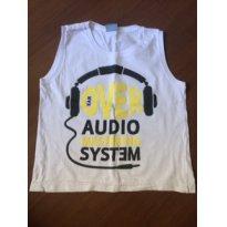 Regata audio tamanho 4 - 4 anos - Não informada