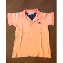 Polo Up Baby tamanho 6 - coral - 6 anos - Up Baby