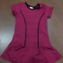Vestido tamanho 3 - 3 anos - ROSE FEIJÃO